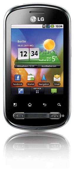LG P350 Optimus Me Bild