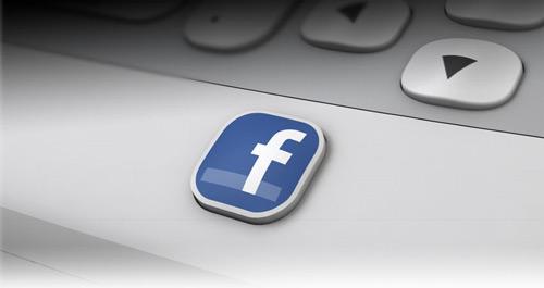 htc facebook button