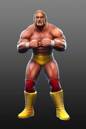 WWE ALL STars Charaktere Hulk Hogan