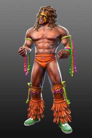 WWE All Stars Charakter Ultimate Warrior