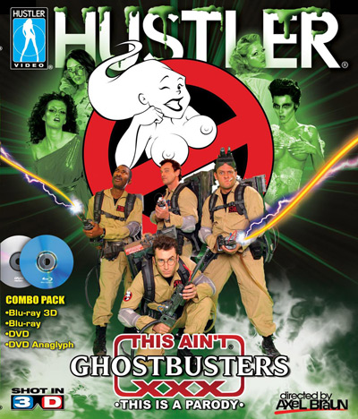 This aint Ghostbusters XXX Cover
