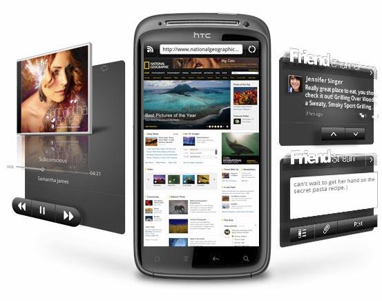HTC Sensation mit HTC Sense