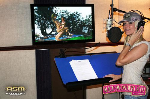 Jessica Drake im Studio