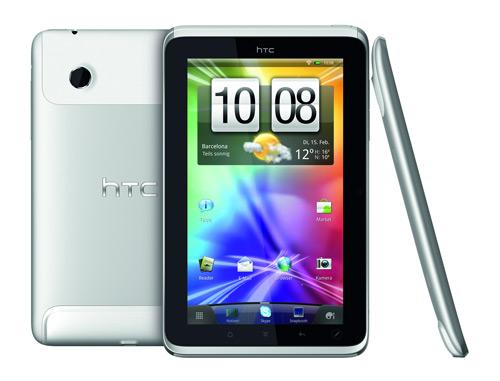 HTC Flyer Bild der Ansicht von allen Seiten