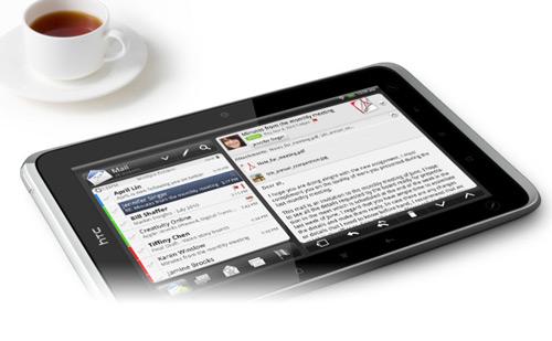 HTC Flyer mit Evernote