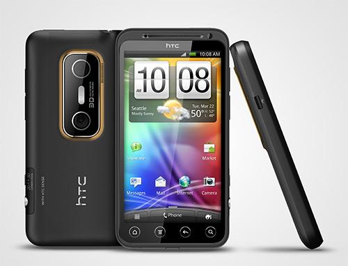 HTC Evo 3D allsites Foto