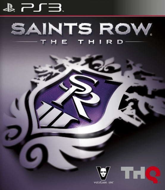 Saints Row the 3rd Cover PS3