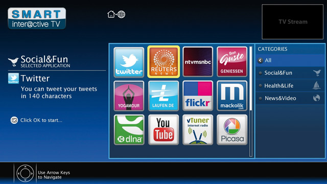 Grundig Smart TV Apps