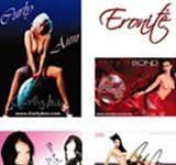 Eronite Erotikstar Autogrammkarten