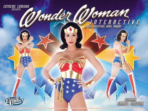 Wonder Woman Interactive: A XXX Adventure Game Parody