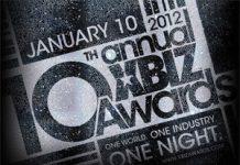 XBIZ Awards 2012 Logo