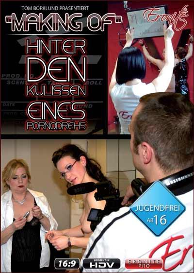 Making Of - Hinter den Kulissen eines Pornodrehs DVD Cover