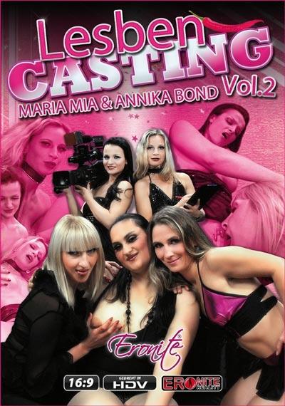 Das Lesbencasting 2 DVD Cover