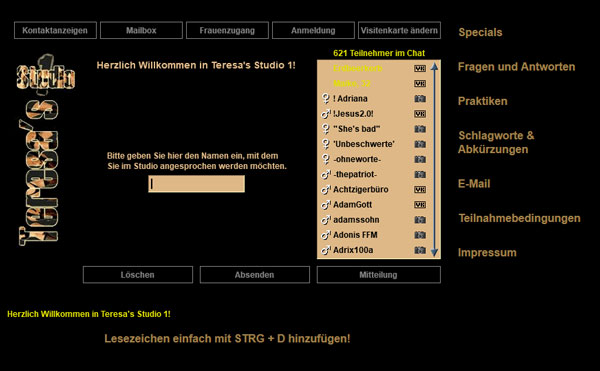 Teresas Studio1 Screenshot