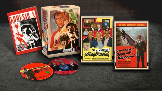 Kommissar X DVD Box