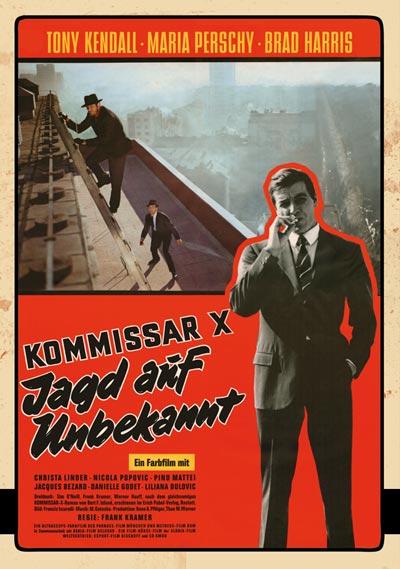 Kommissar X DVD Cover
