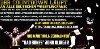 Deutscher Wrestler Bad Bones John Klinger im TNA GutCheck