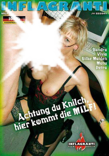 Achtung du knilch milf inflagranti dvd cover