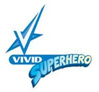 Vivid superhero-logo