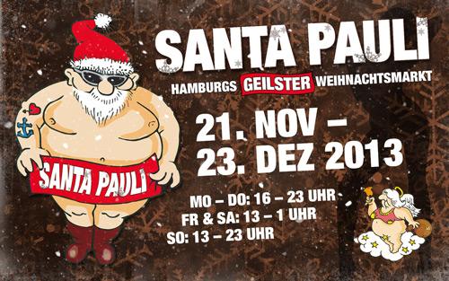 Santa Pauli hamburg 2014