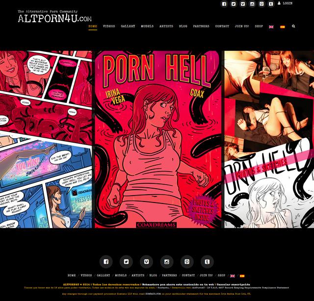 AltPorn4u Website