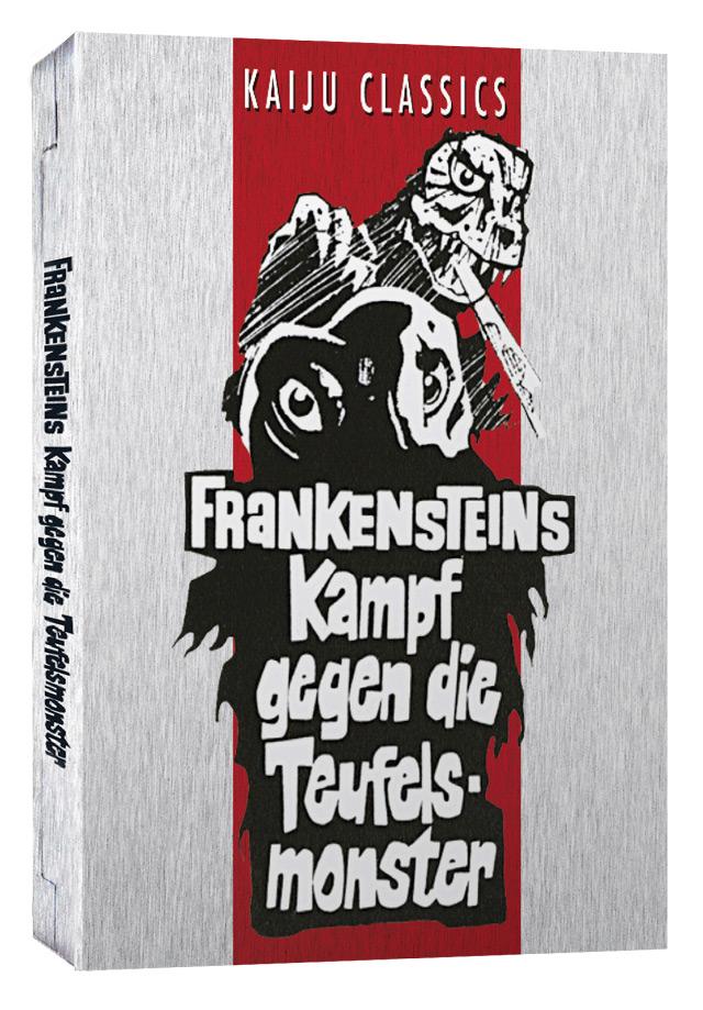 Frankensteins Kampf gegen die Teufelsmonster DVD Cover