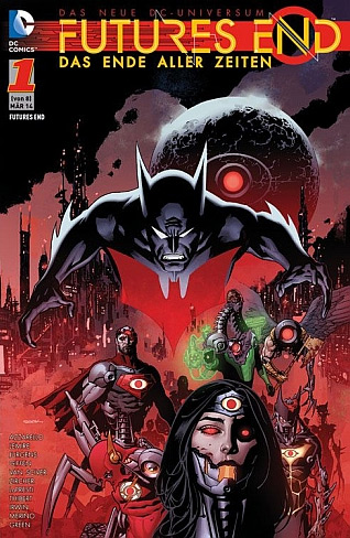 Futures End DC Comics Band 1 Cover