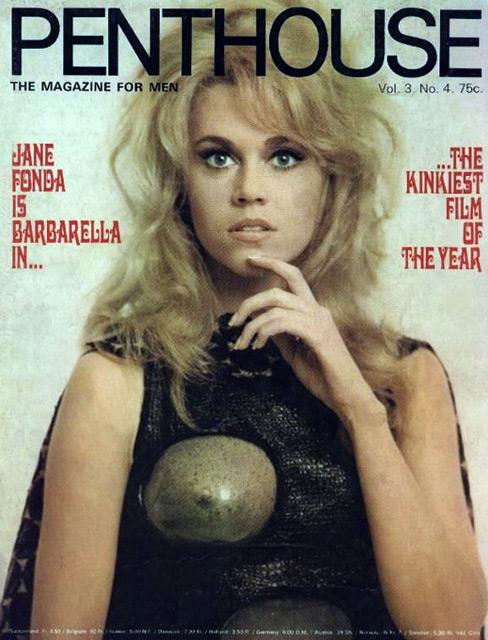 Penthouse Magazin Barbarella Cover