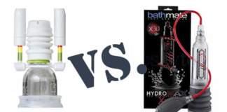 Phallosan Forte und Bathmate Hydromax Xtreme X30 Penispumpen Vergleich und Test