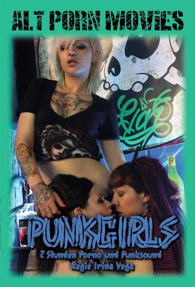 Alt Pon Movies Punkgirls DVD Cover Front