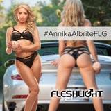 Anikka Albrite Fleshlight Girl