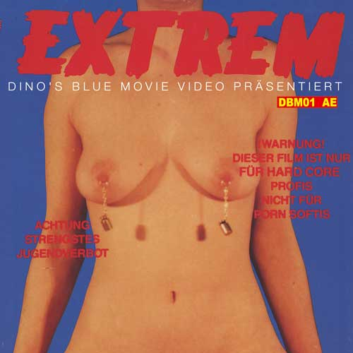 Extrem DBM Video VHS Cover