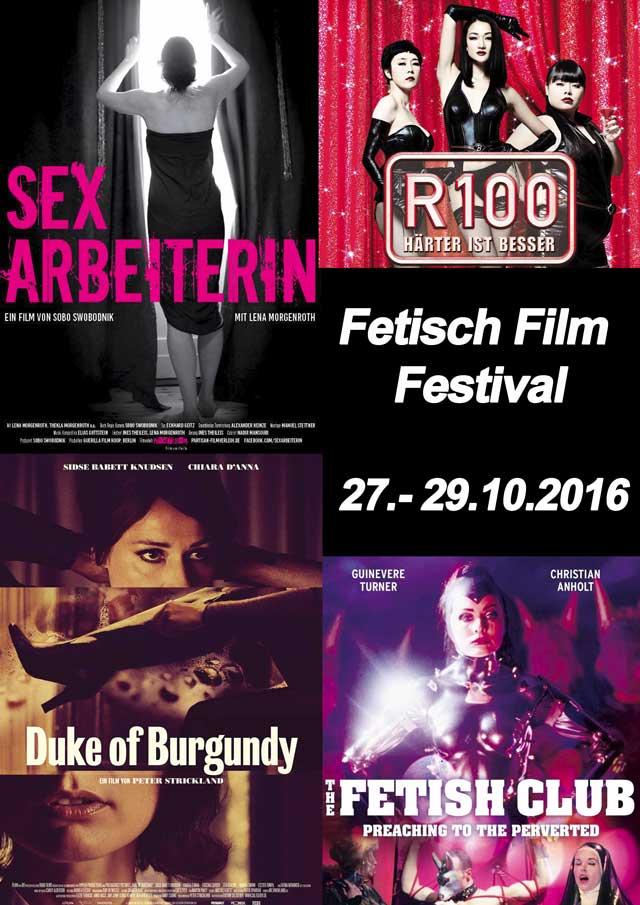 9 Fetisch Filmfestival 2016 Plakat
