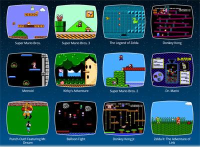 NES Mini 30 Games
