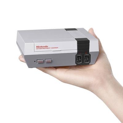 NES Mini Konsole Groesse