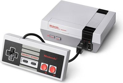 NES Mini Konsole mit Controller