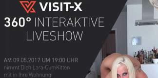 Visit-X präsentiert Lara-CumKitten live in Ultra-HD und interaktiv