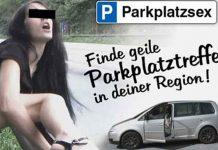 Parkplatz-Sex Suche für heißen und anonymen Sex