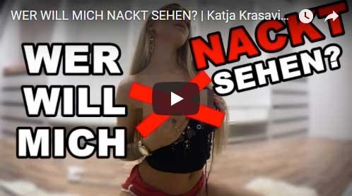 Katja Krasavice zeigt sich nackt oder auch nicht