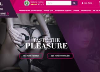 SexyGourmet.de mit lustvollem Erotik-Angebot