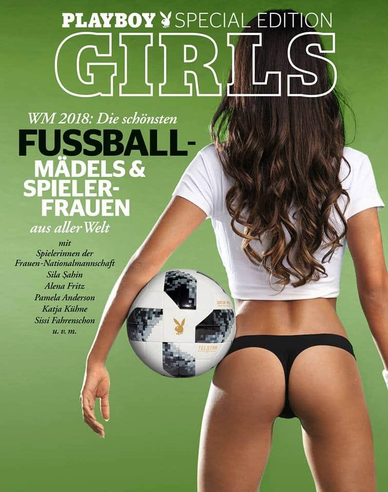 Playboy Cover Special Edition - Fussball Mädels und Spielerfrauen