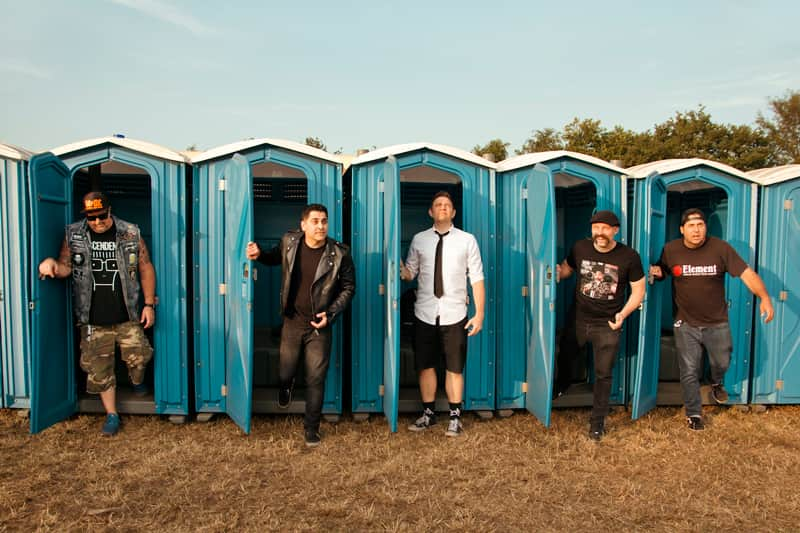 Offizielles Band Foto von Zebrahead (2019)