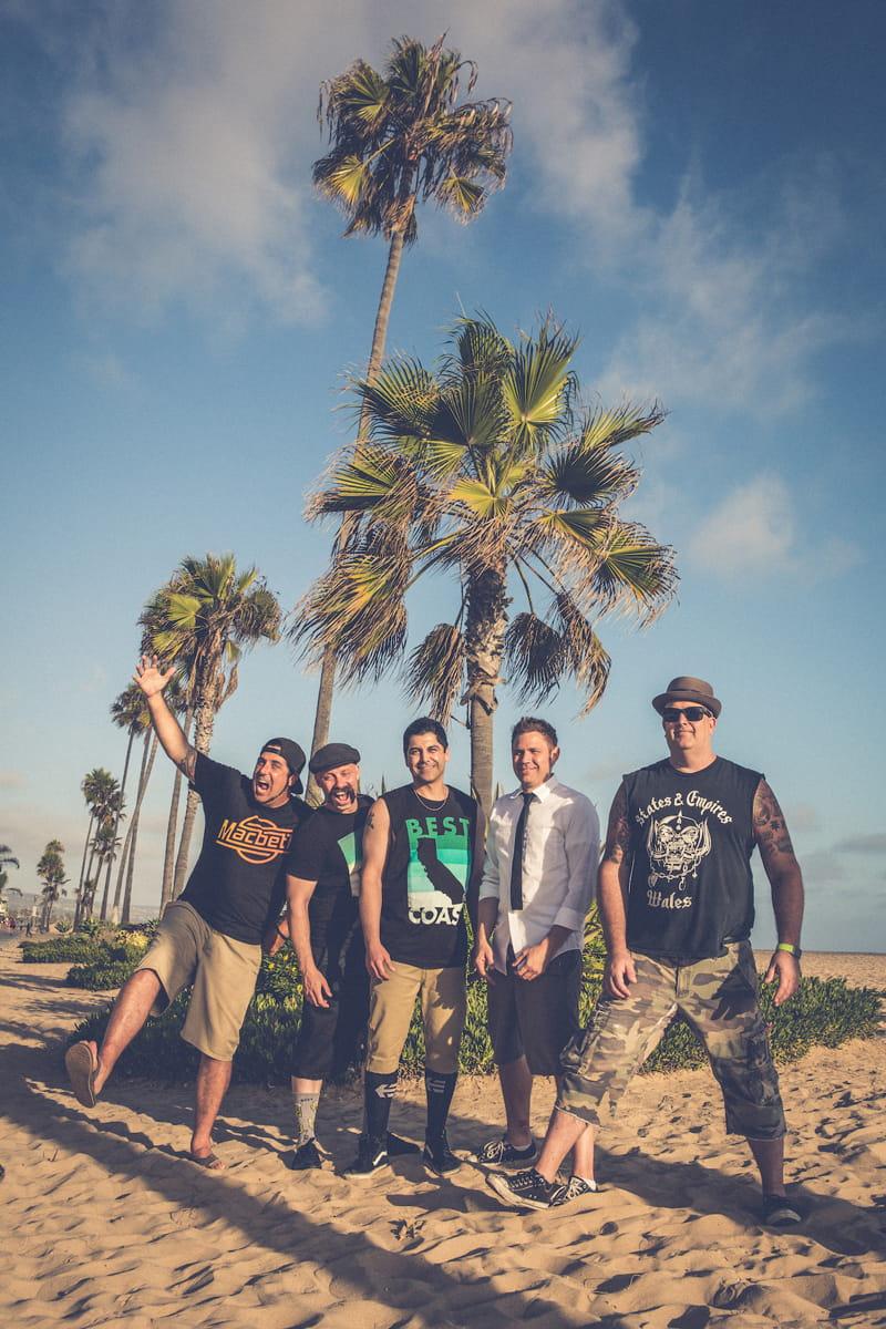 Offizielles Bandfoto Zebrahead Beach